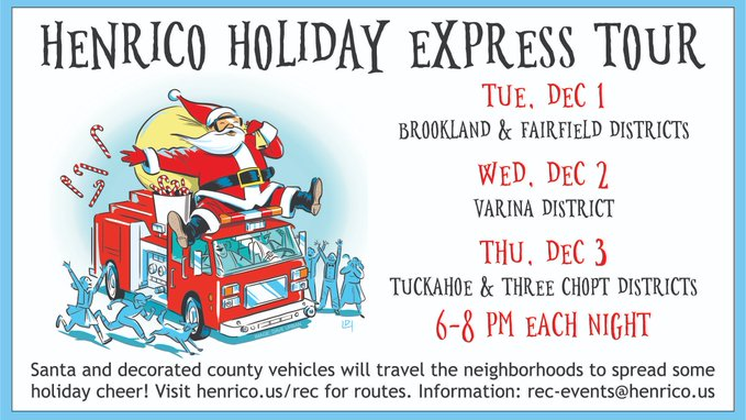 Henrico Holiday Express Tour
