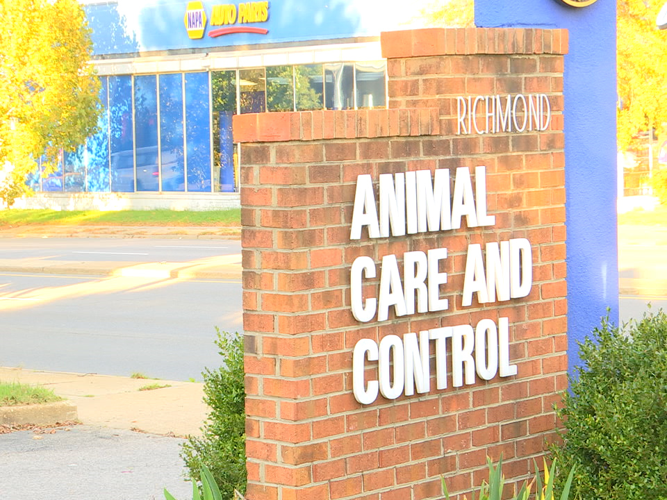 Richmond Animal Care and Control sign