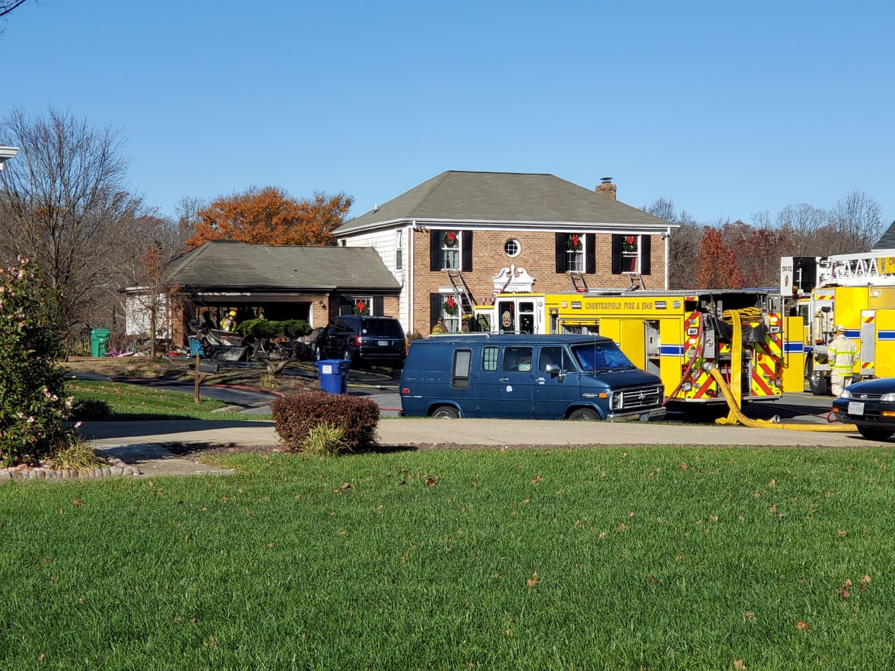 Chesterfield home fire