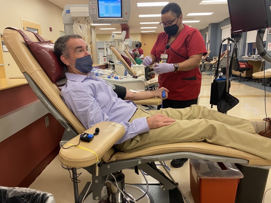 Northam donating