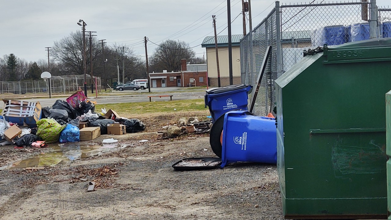 Residents fed up as trash piles up in Fairfield Court: 'In 2021, we cannot afford to accept any more mess'