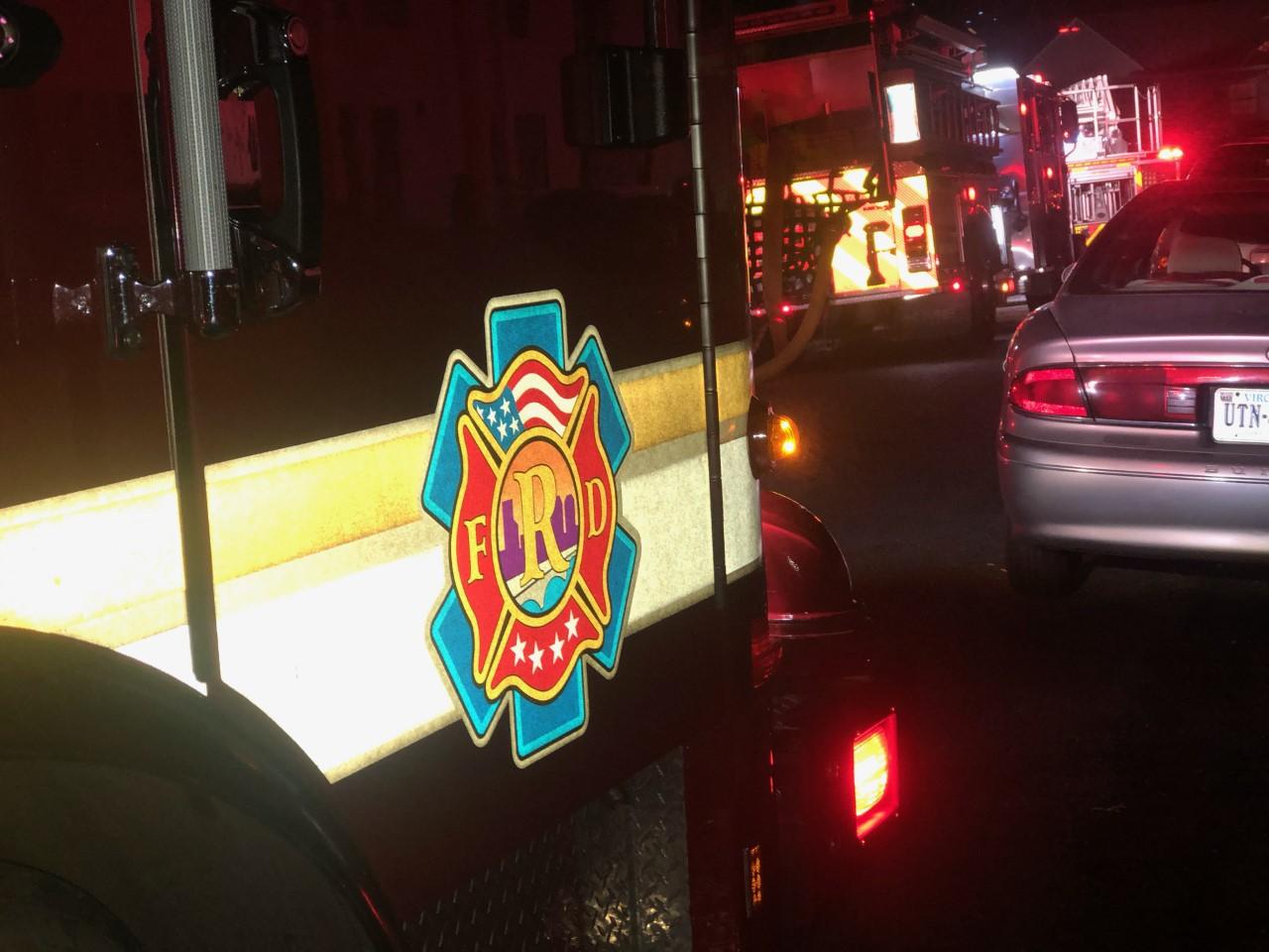Richmond Fire Department Truck