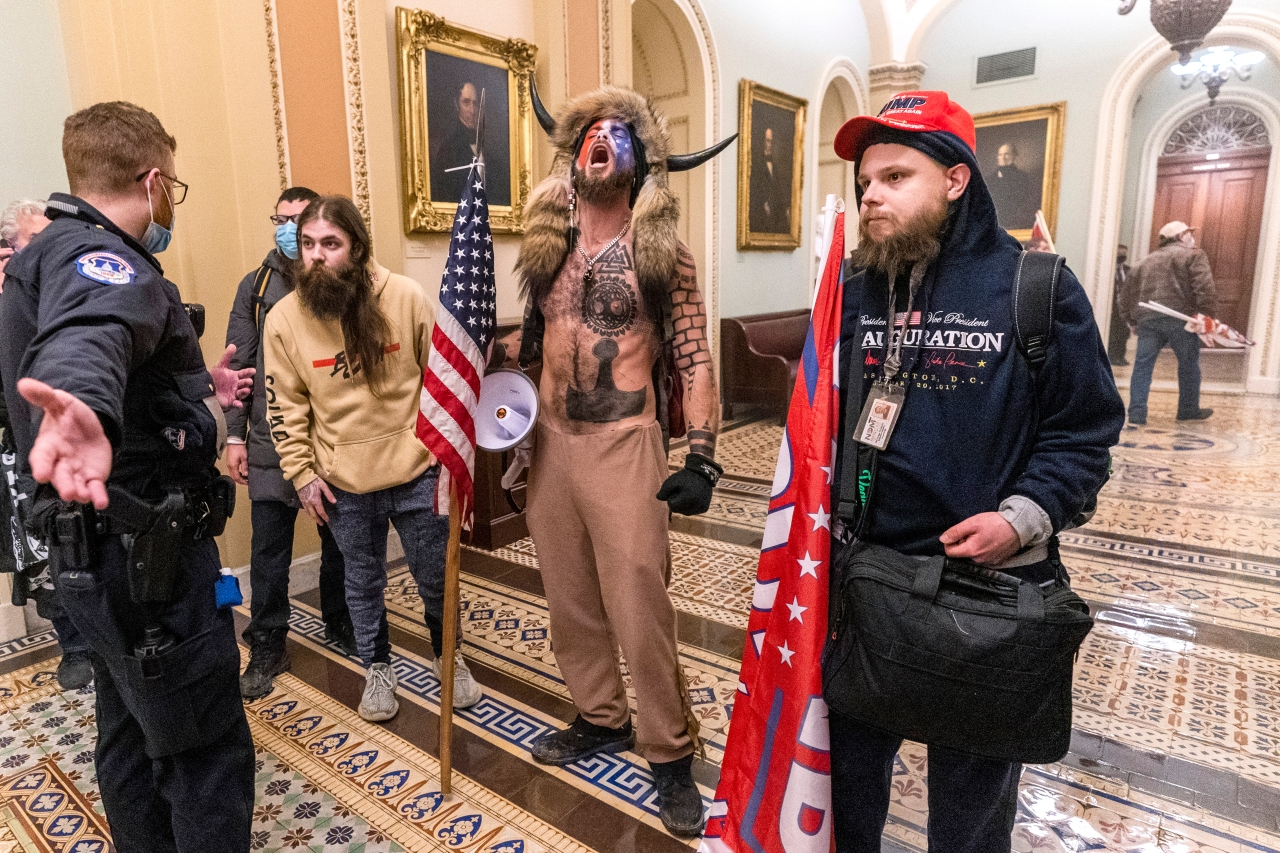 Trump-supporters violently occupy U.S. Capitol amid election certification,  protests result in four deaths | 8News