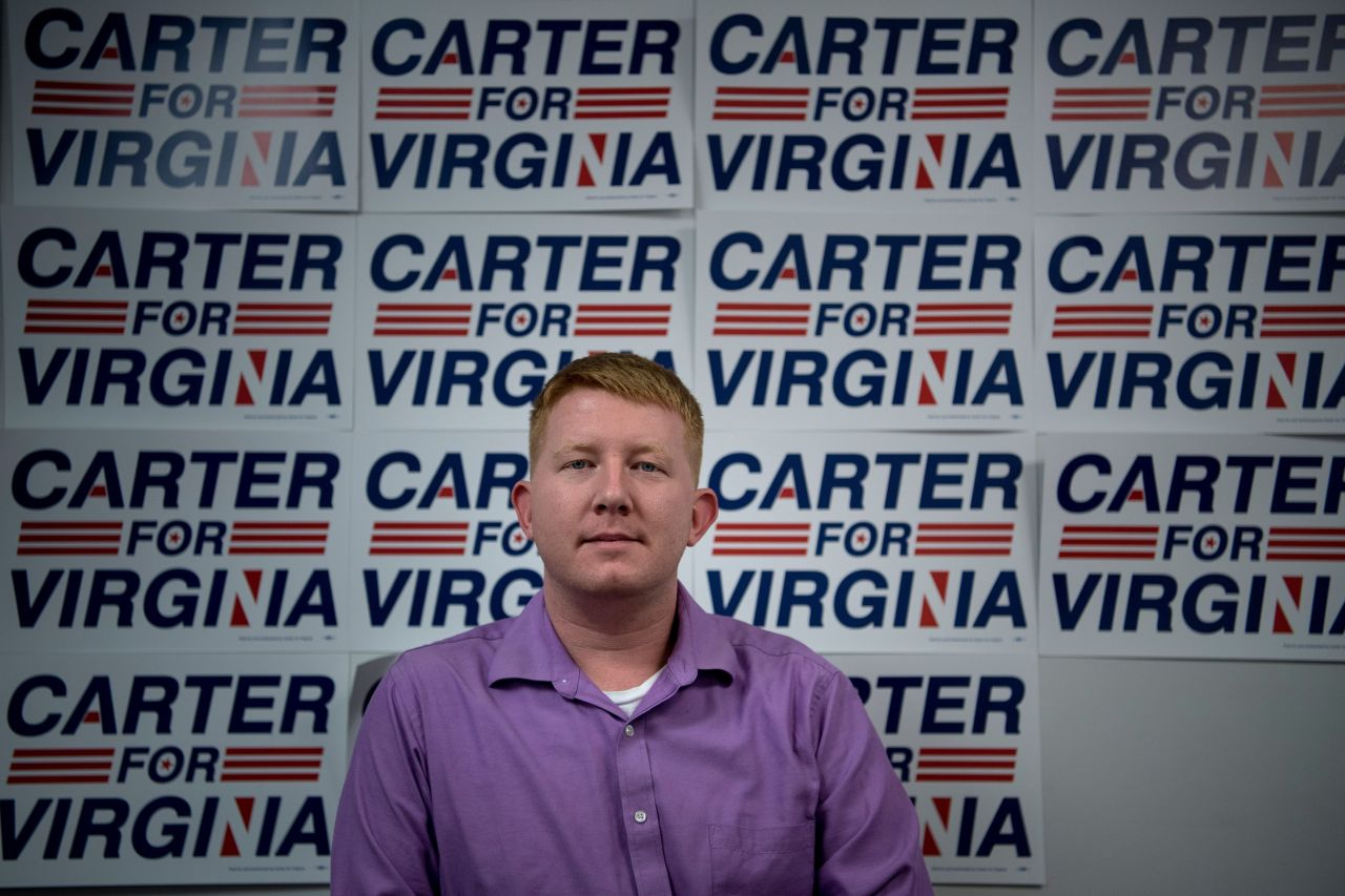 Del. Lee Carter announces he's running for governor in 2021