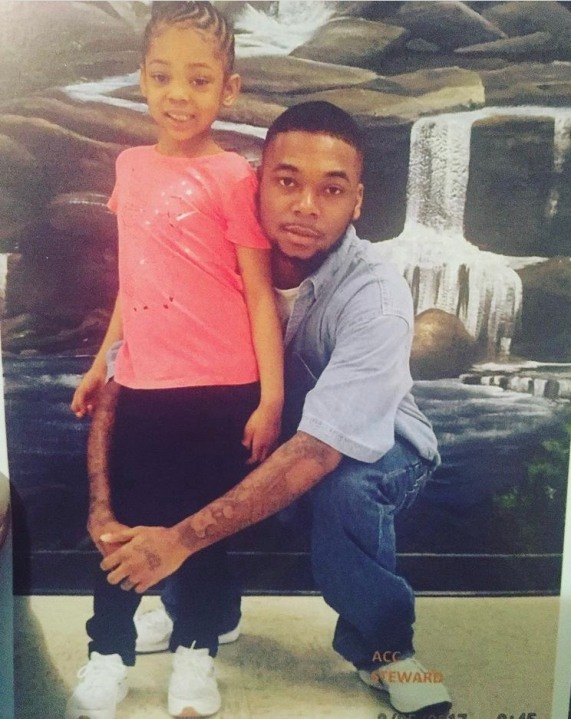 Antwain steward and his daughter