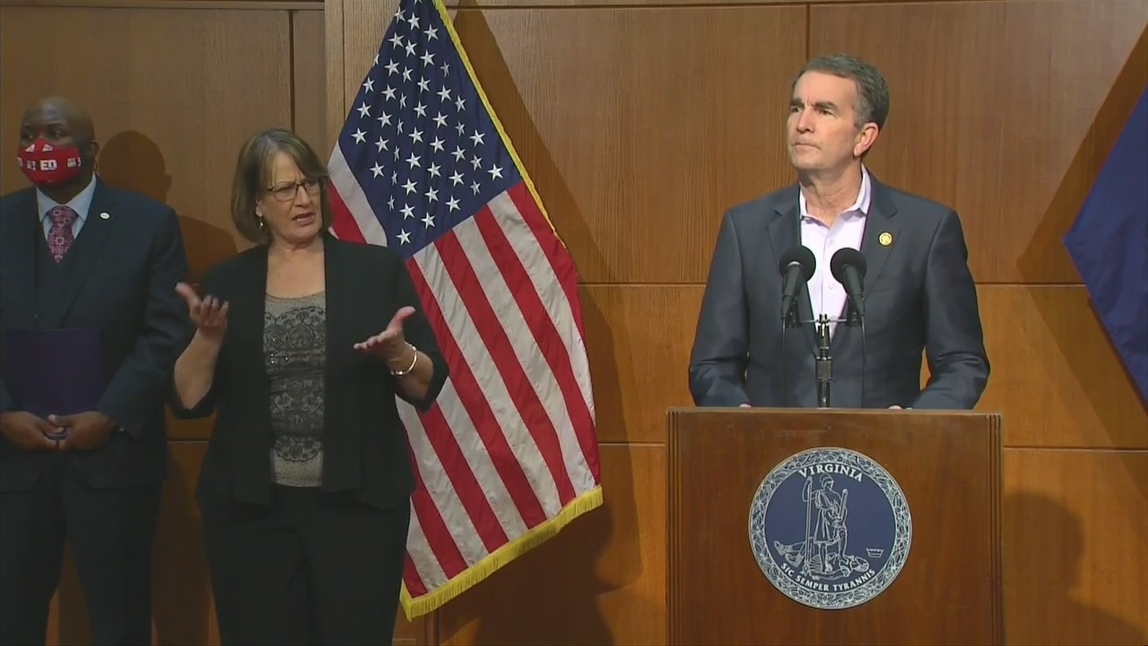 Gov. Ralph Northam's COVID-19 update on Jan. 14