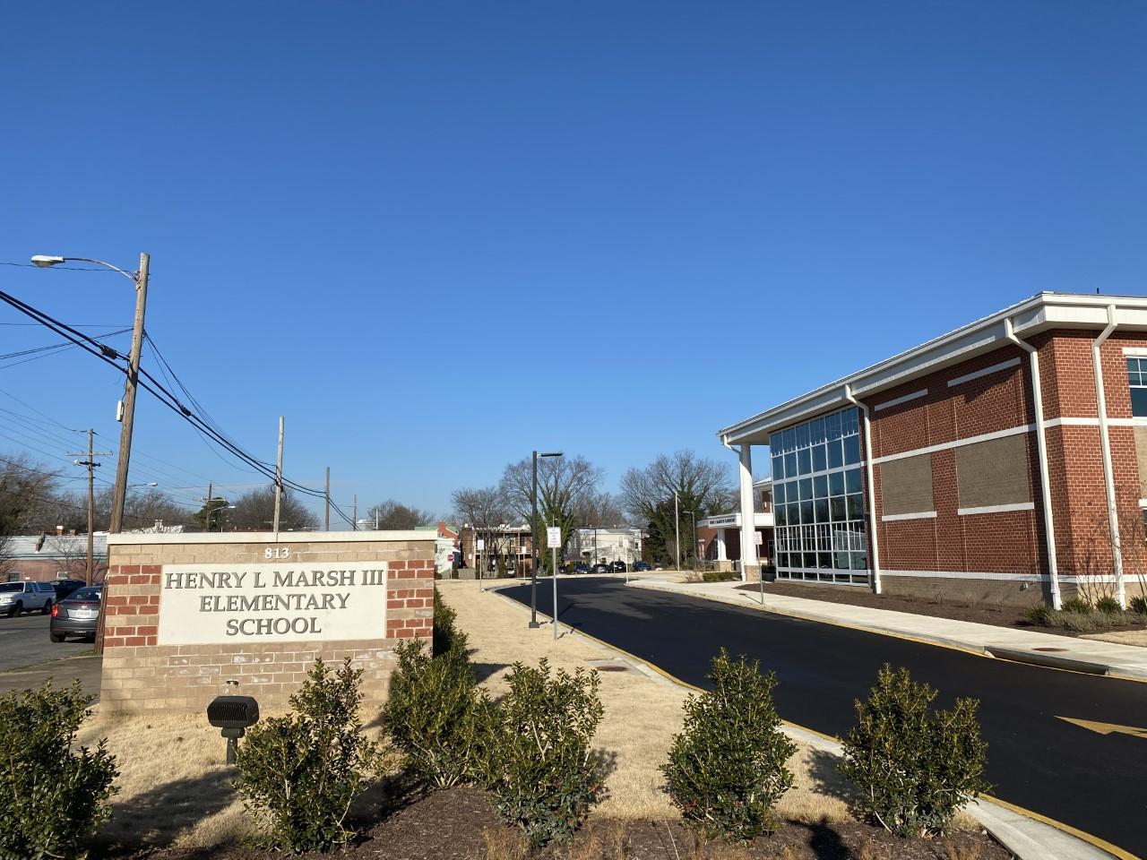 Henry L. Marsh, III Elementary School exterior