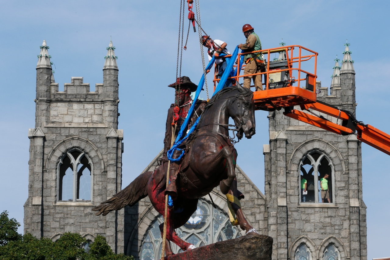 Virginia removes most Confederate symbols nationwide in 2020