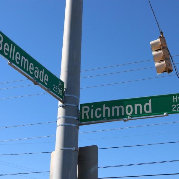 Richmond Highway Sign Installed 2-24-21