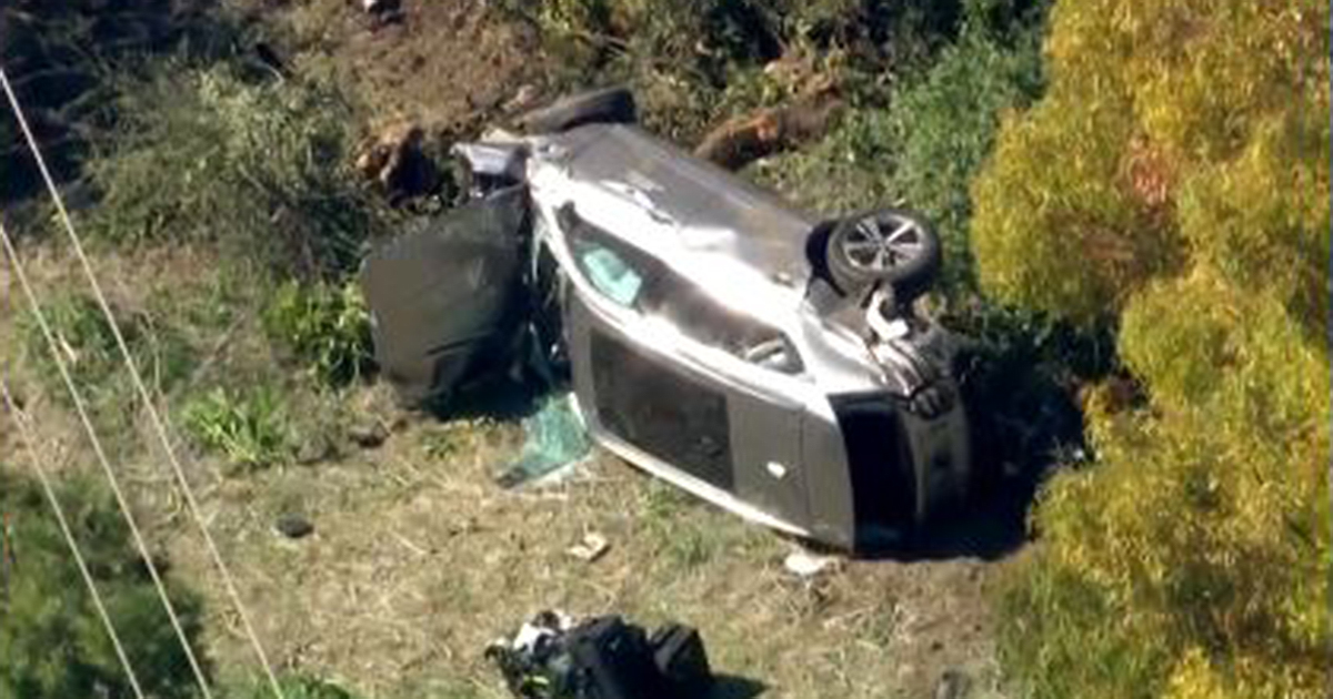 Tiger Woods removed from vehicle with 'jaws of life' after rollover crash in California