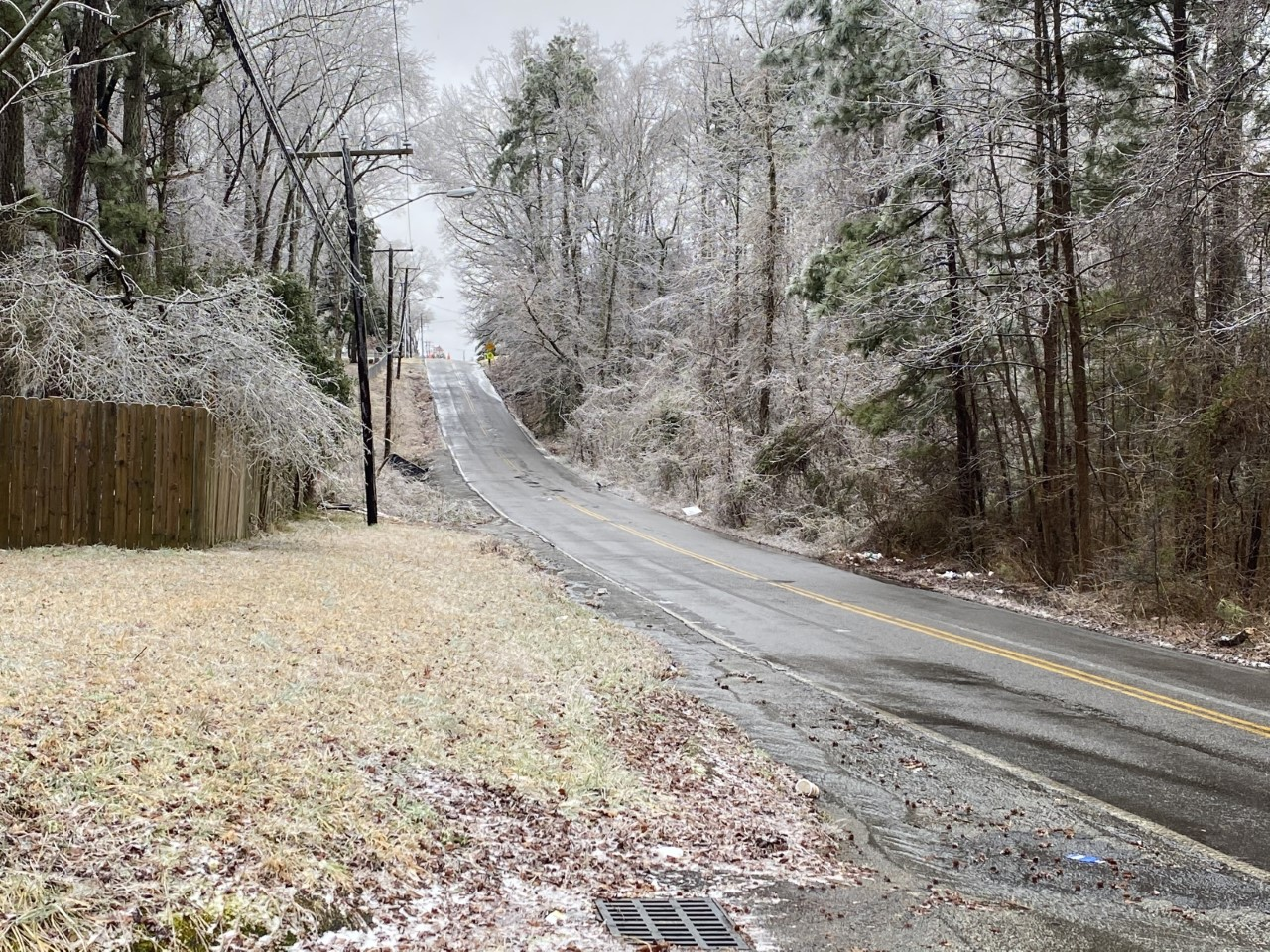 icy roads