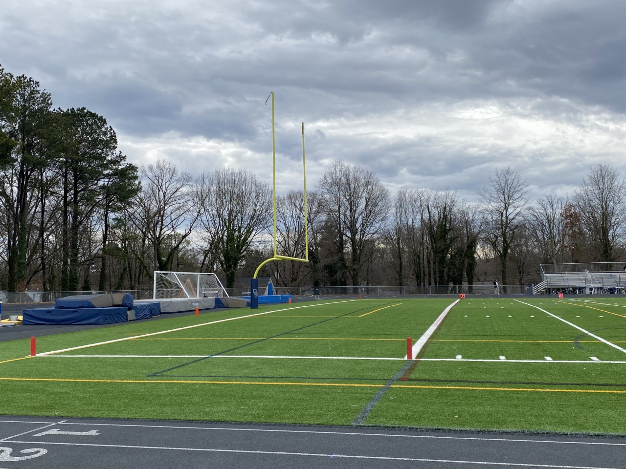 football field at Douglas Freeman