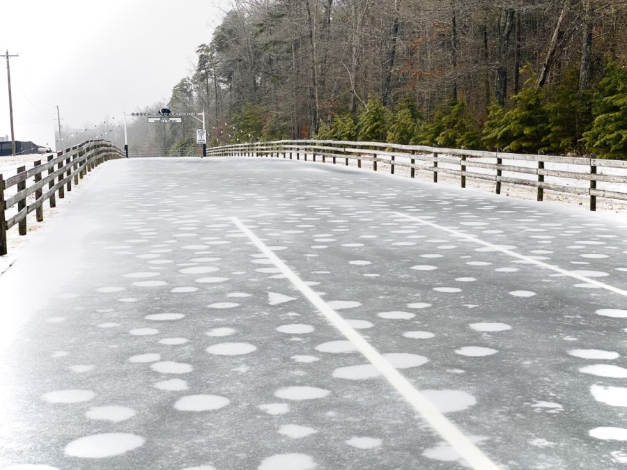 icey goochland drive in theater road