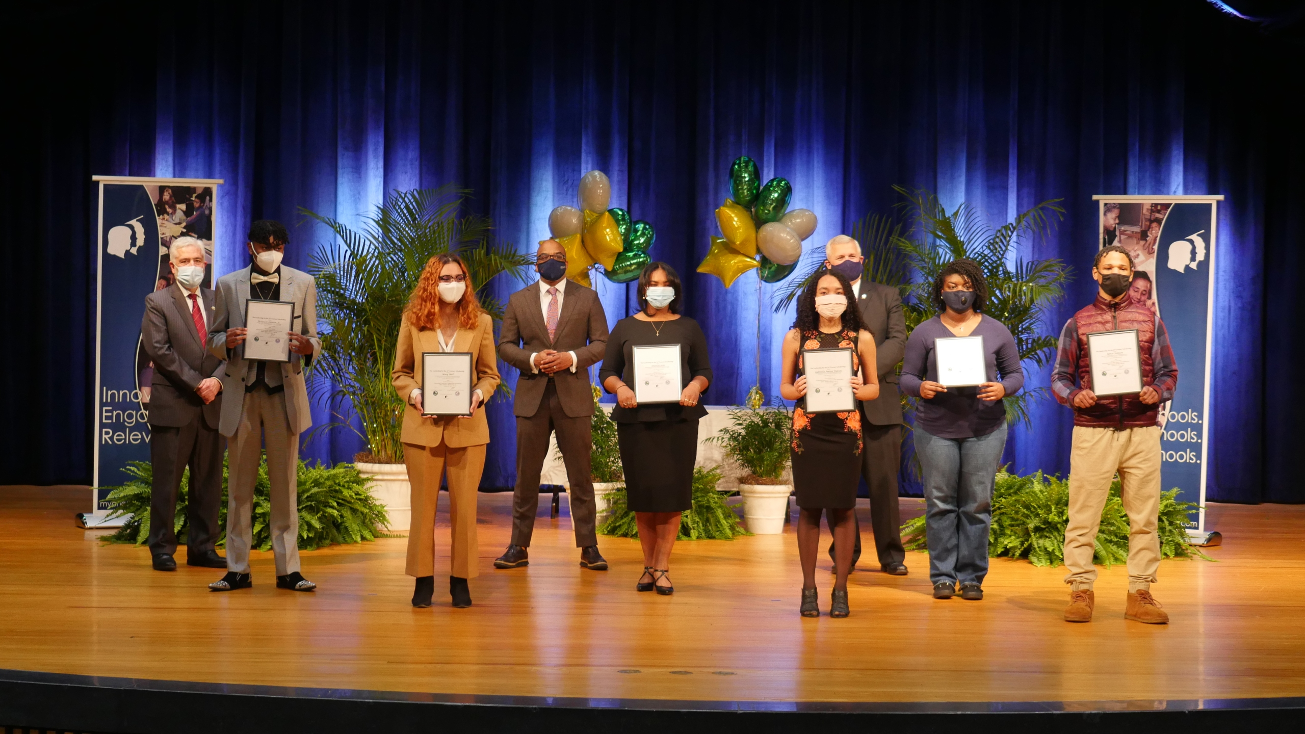 2021 Chesterfield BHM Scholarship Winners