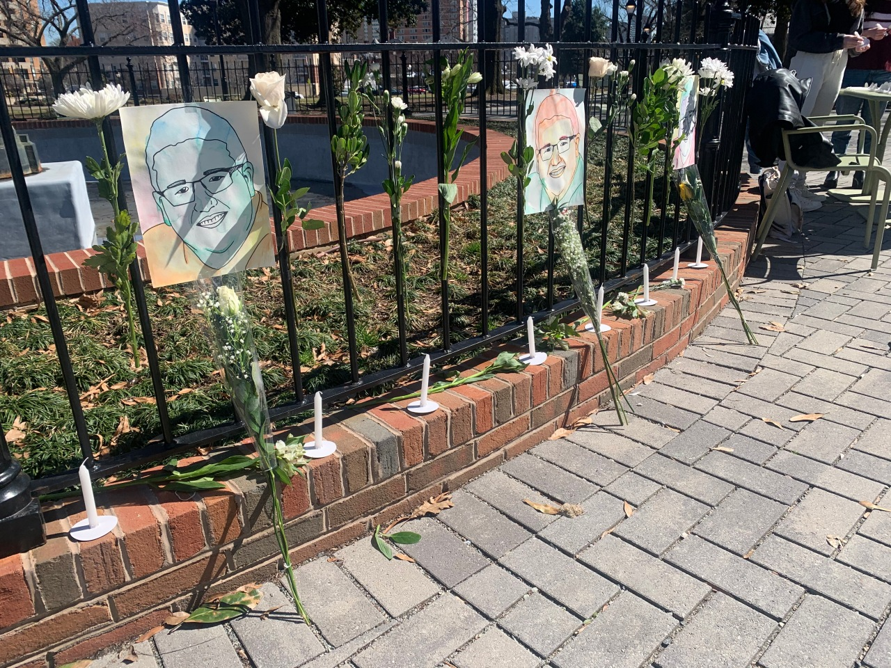 Memorial honors Adam Oakes, students push for change in university Greek culture: 'This cannot happen'