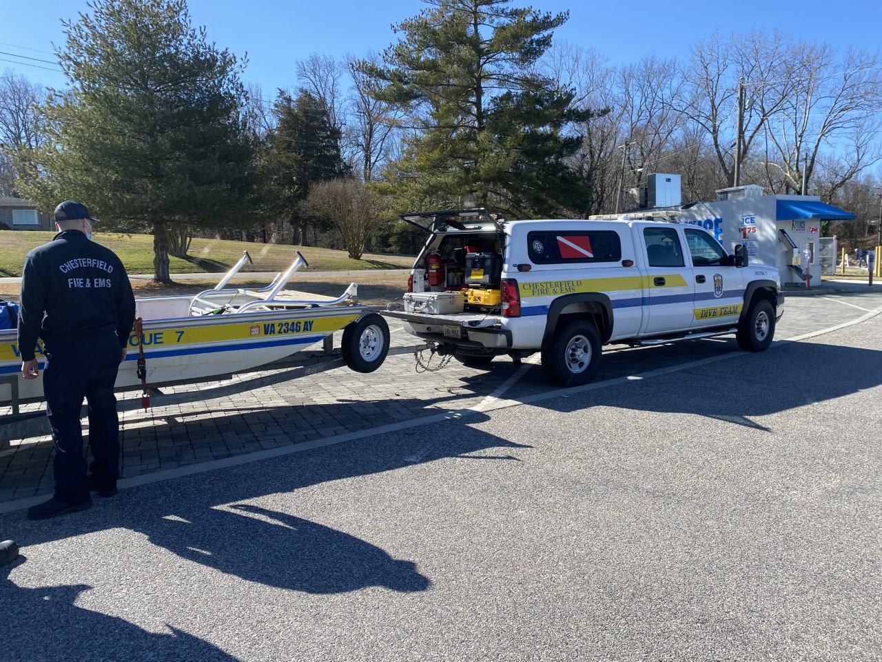 Officials respond to water rescue near Hopewell Marina