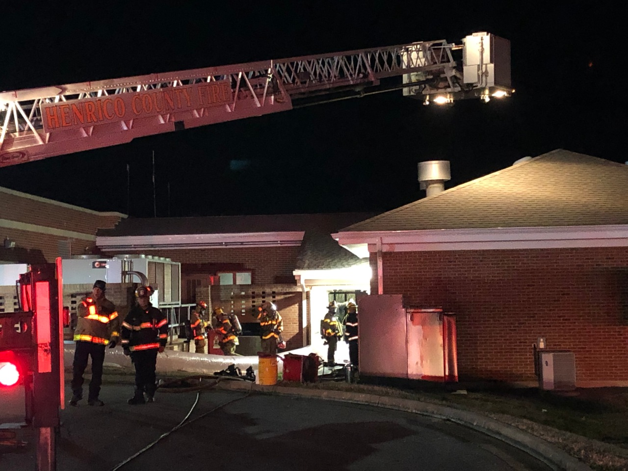 Crews respond to early morning fire at Henrico retirement community