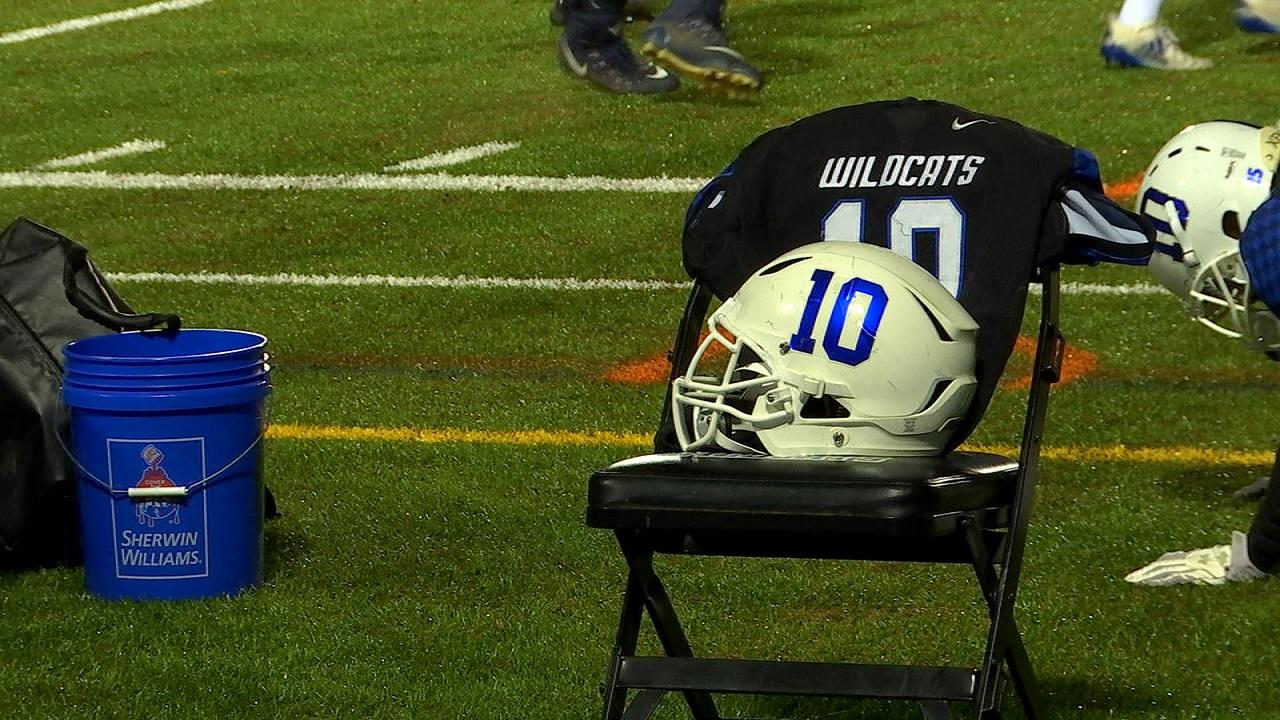 jersey, helmet honor former Deep Run Wildcats football player Gabe Henderson