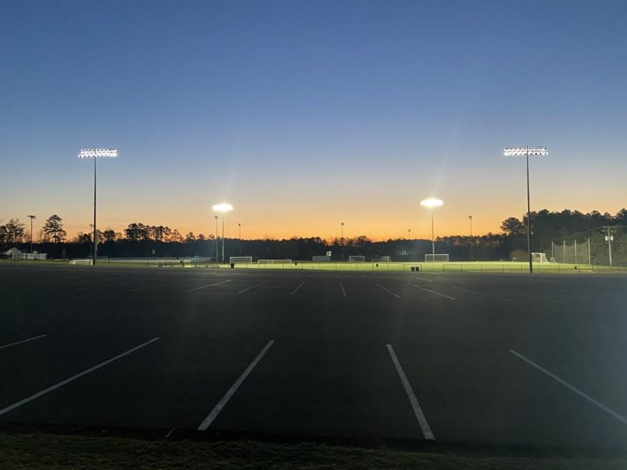 Richmond strikers field
