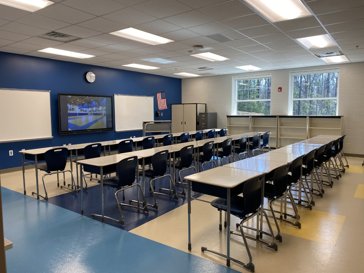 Crestwood Elementary School classroom