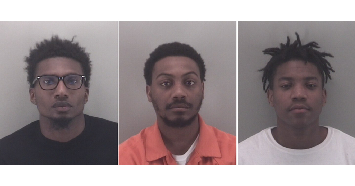 (L to R) Donald Hemmings, Shyheem Martin, Shamondrick Perry (Photos: Richmond City Police)