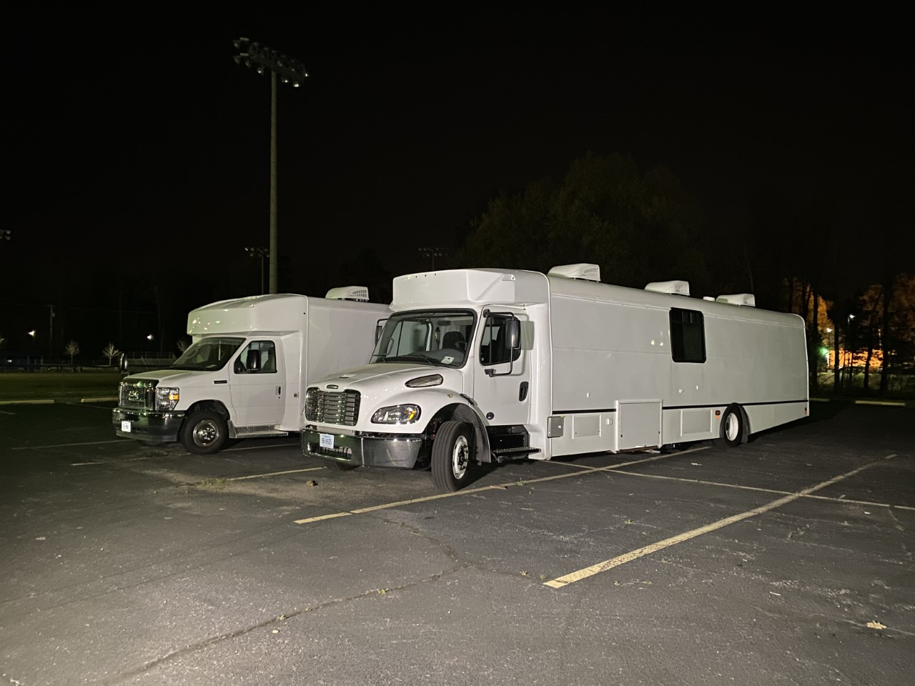 VSU vaccination mobile units