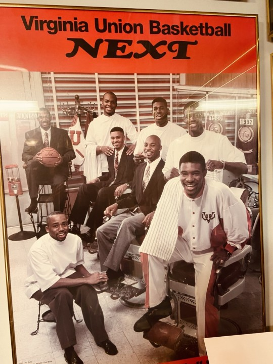 VUU mens basketball poster
