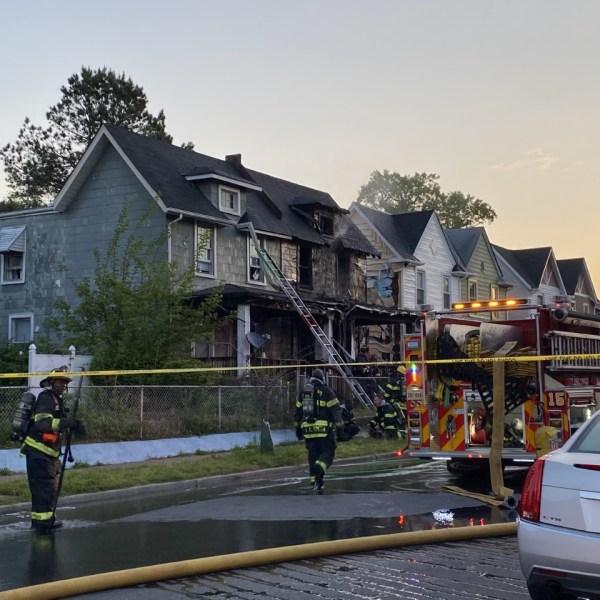duplex Richmond fire