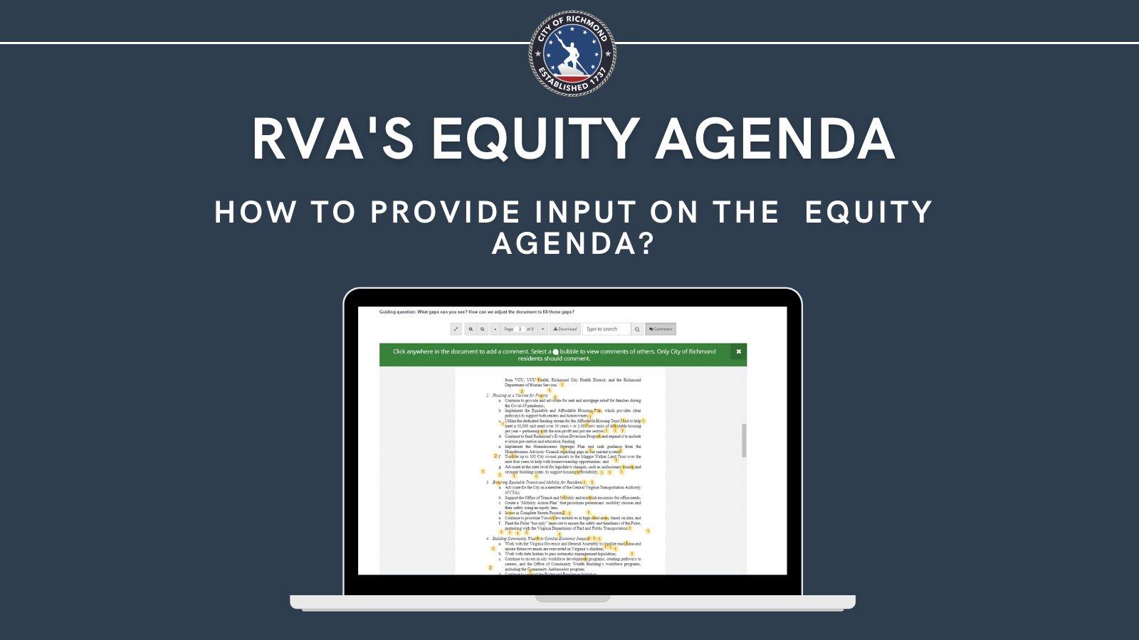 equity agenda