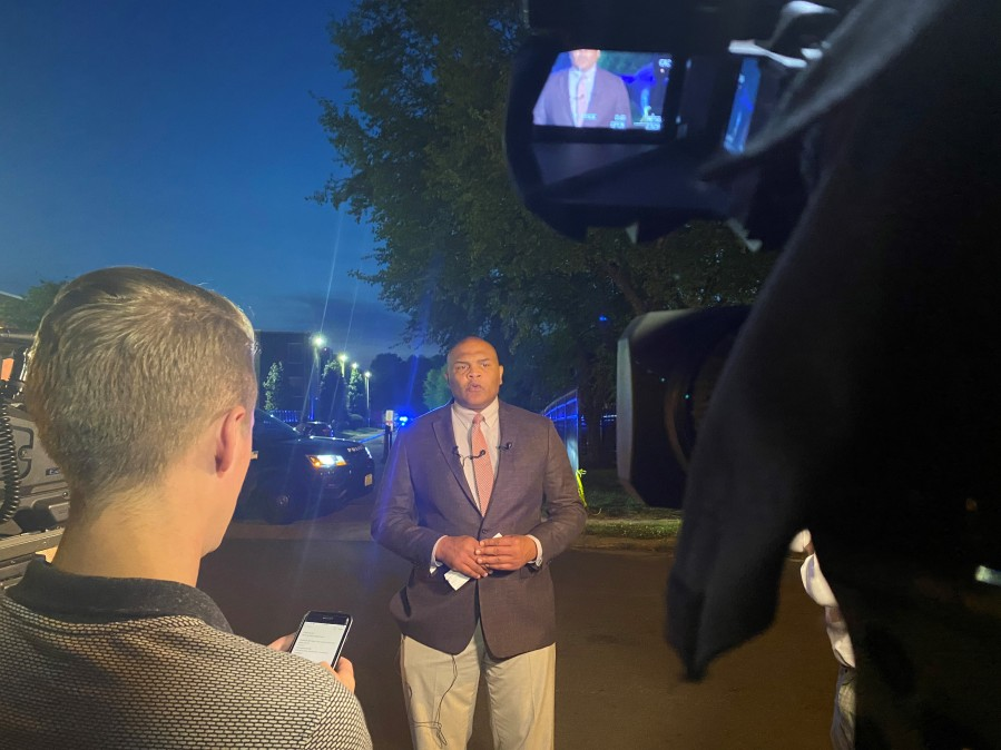 A shooting at The Belt Atlantic apartments on Midlothian Turnpike killed a woman and left several others injured including a baby that's in critical condition. (Photo: 8News)