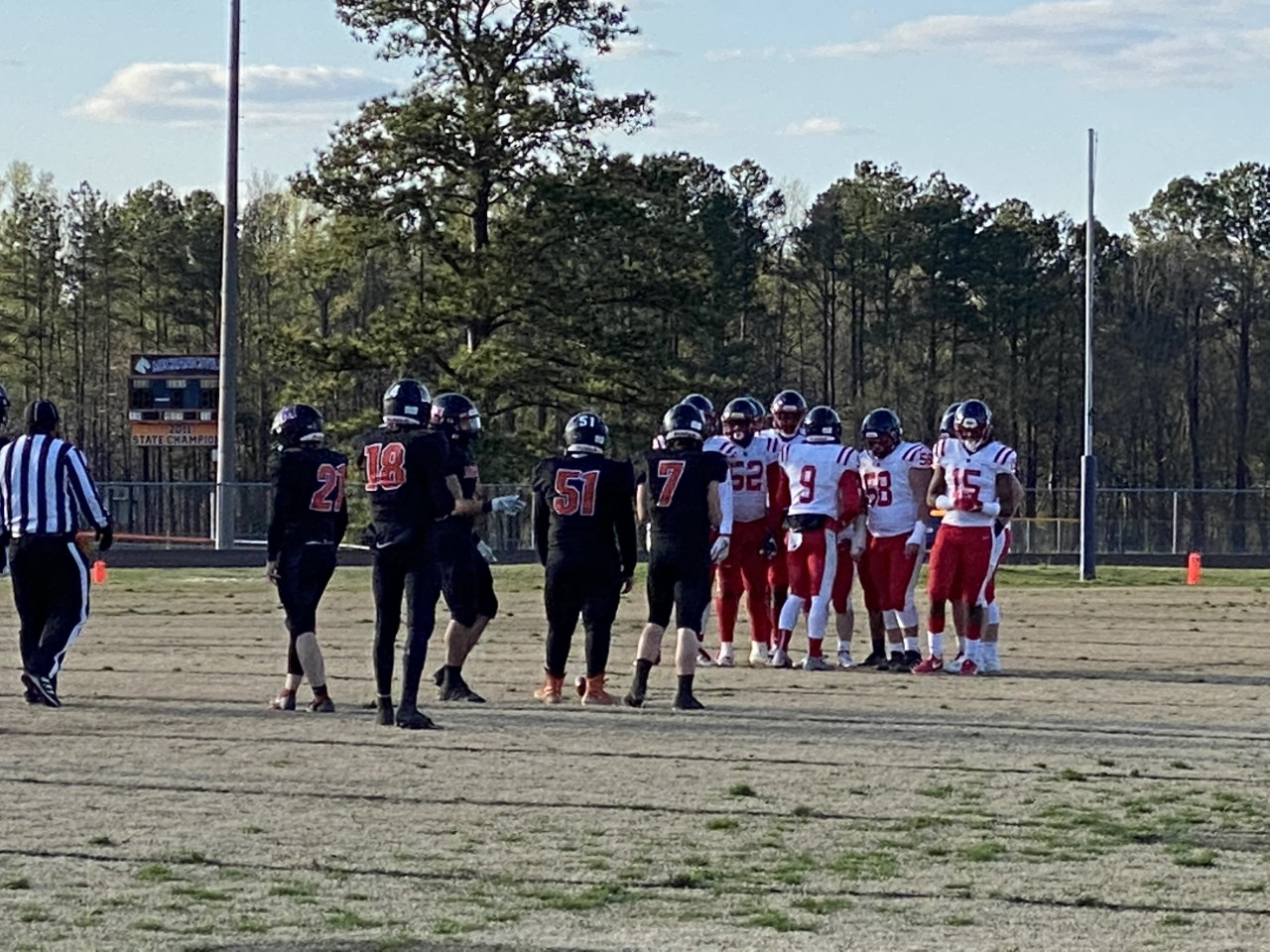 Patrick Henry Patriots at Mechanicsville Mustangs high school football