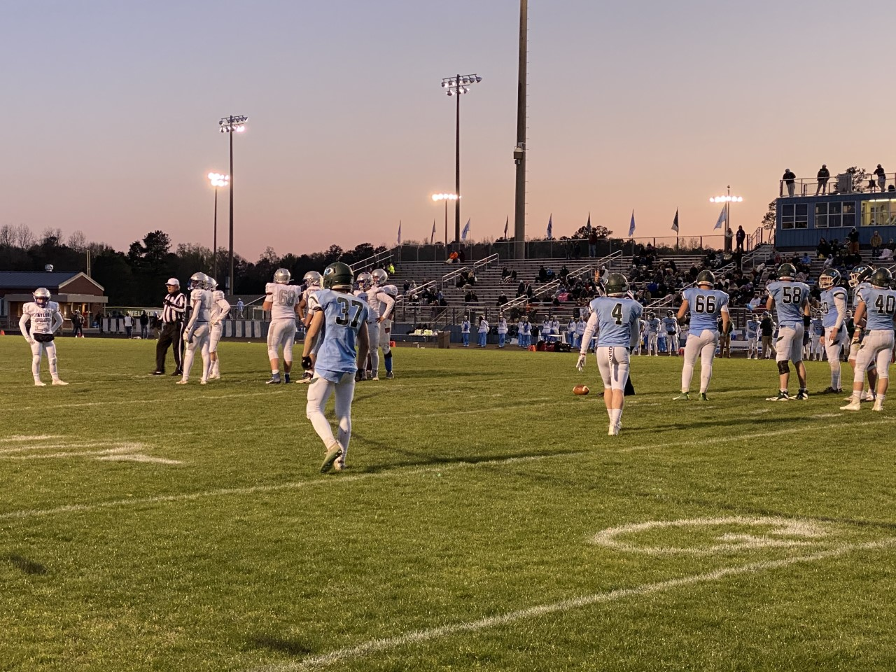 Atlee Raiders at Hanover Hawks high school football