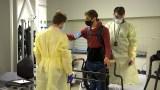Joshua Burch veteran paralysis learning to walk