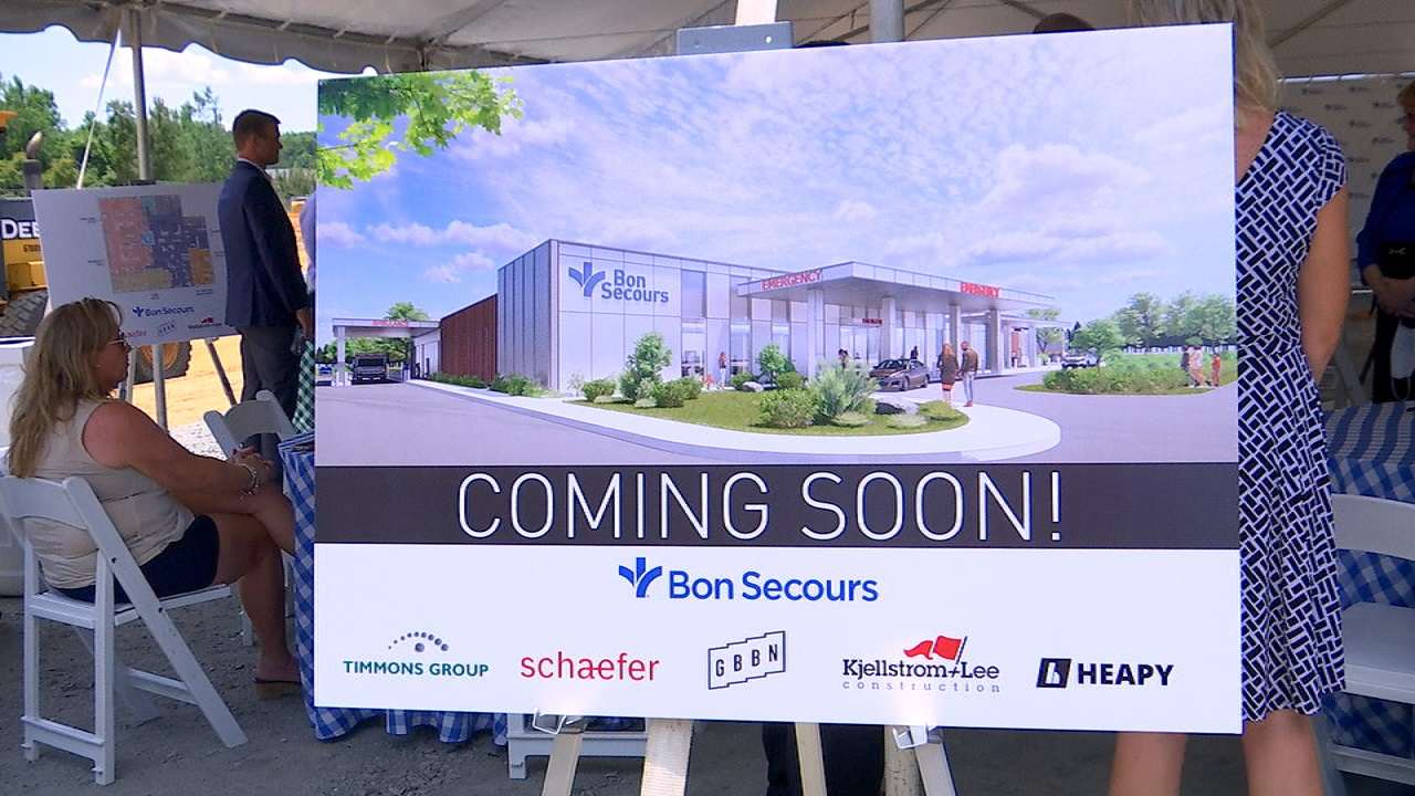 Bon Secours emergency department, imaging center coming soon Chester