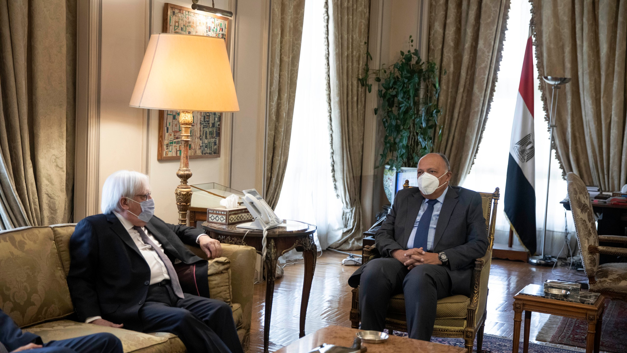 Martin Griffiths, Sameh Shoukry