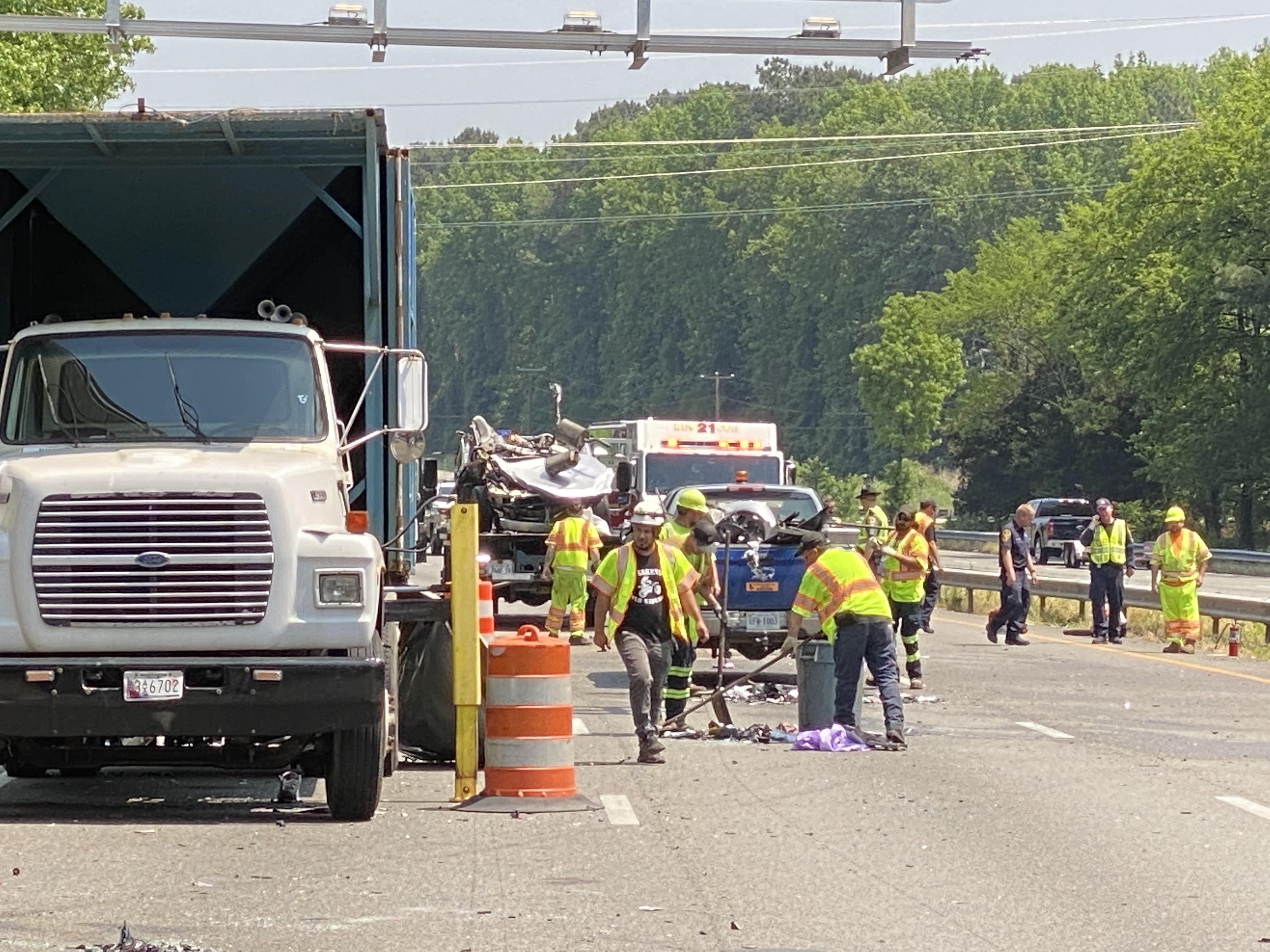 Henrico I-95 crash