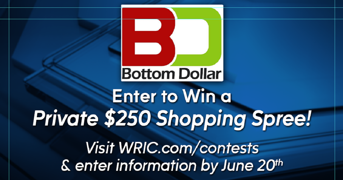 Bottom Dollar Shopping Spree Sweepstakes