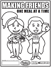 100,000 Meals Coloring Contest