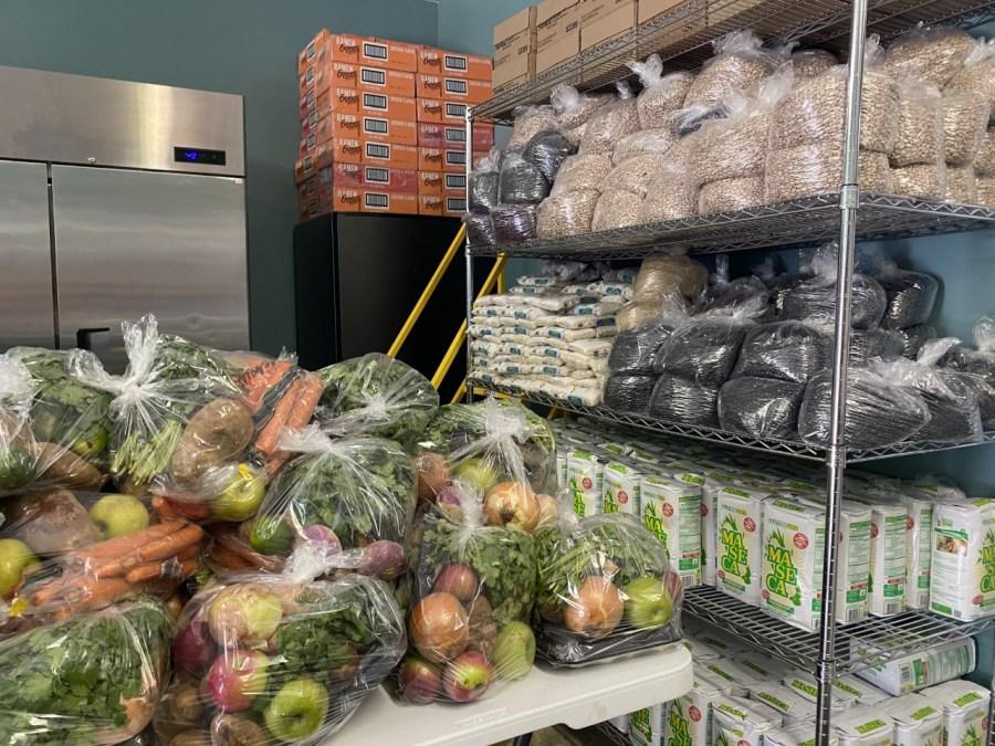 food and veggies