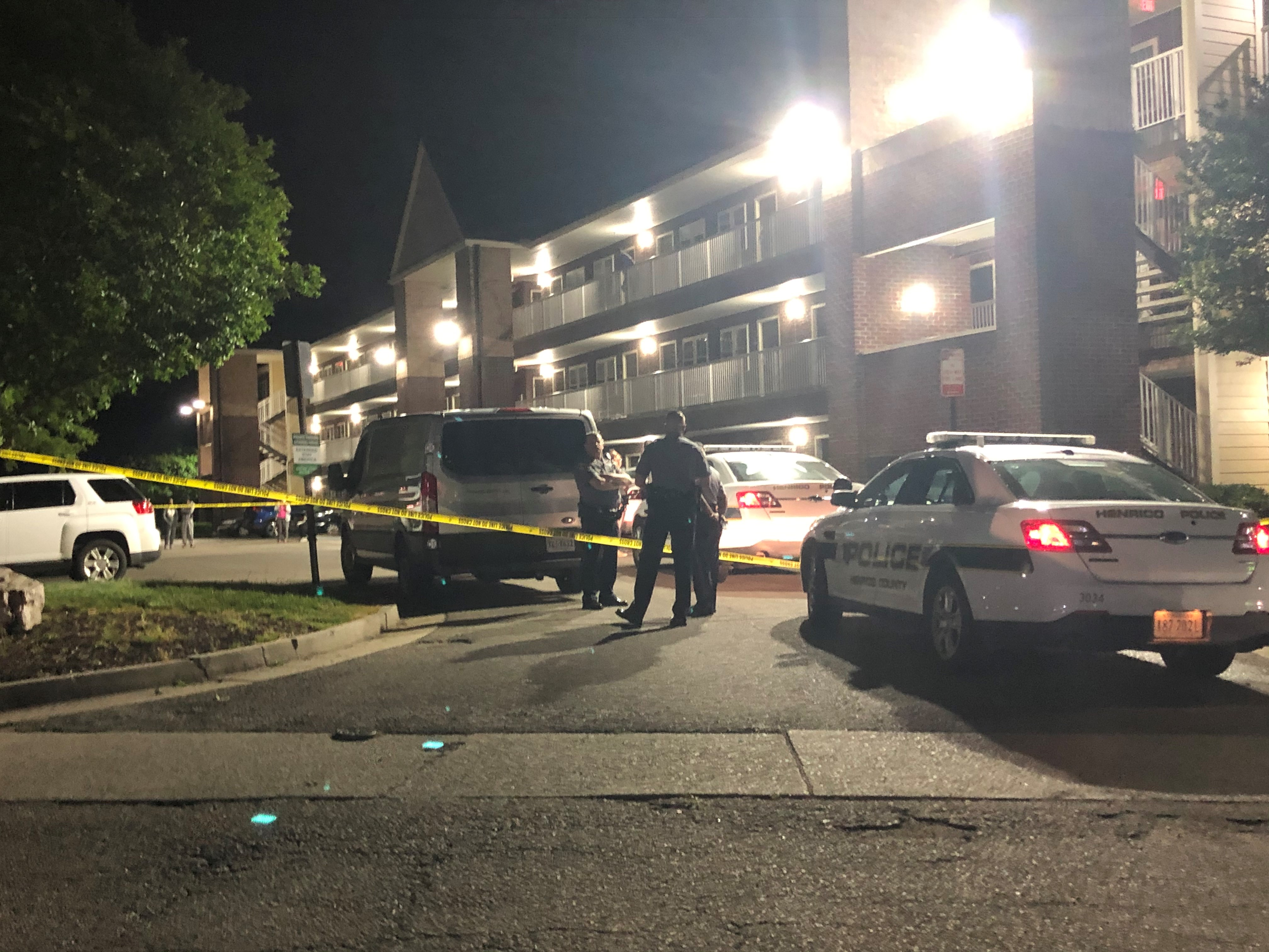 henrico double shooting, extended stay hotel paragon place