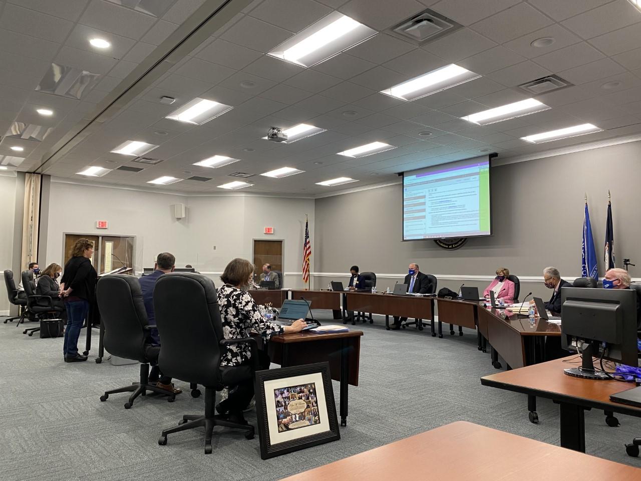 Hanover County School Board meeting