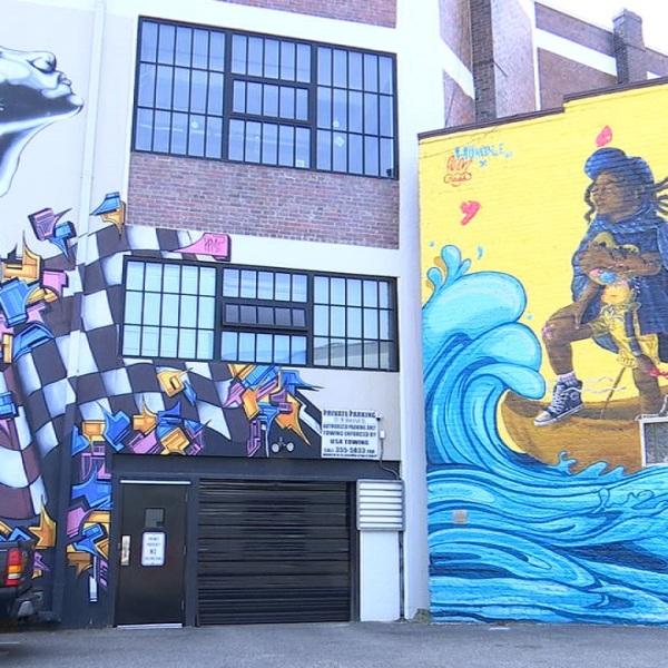 Jackson Ward murals Richmond street art