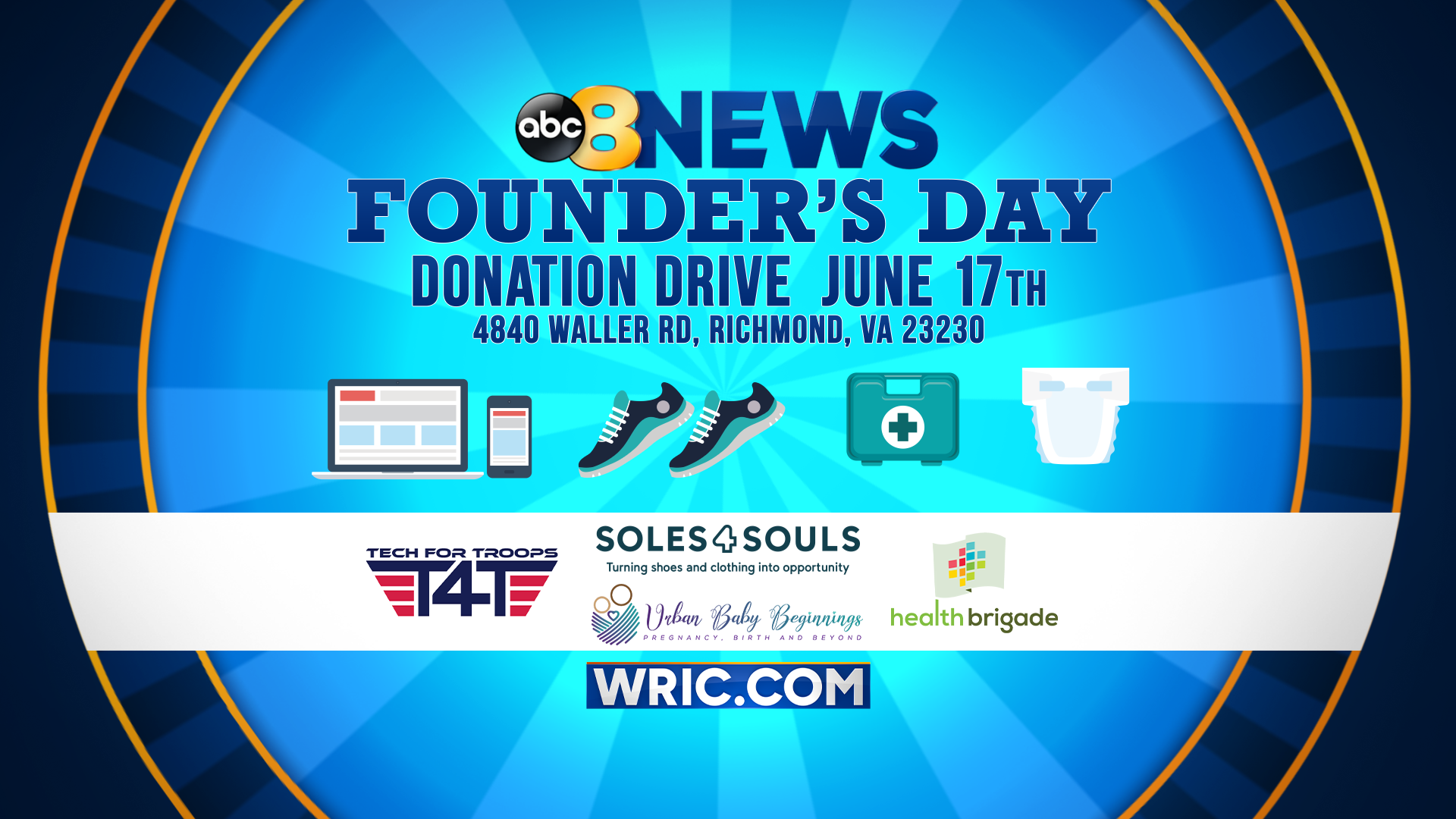 Founder's Day Donation Drive