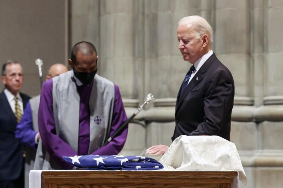 president biden at Warner