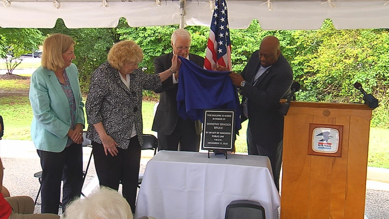 Dorothy Bruce renaming ceremony
