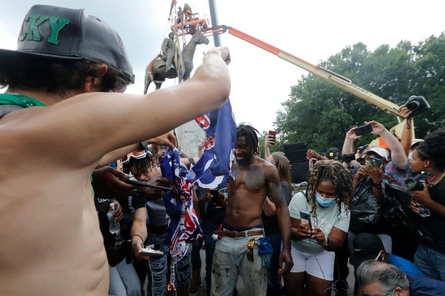 Racial Justice Confederate Statues