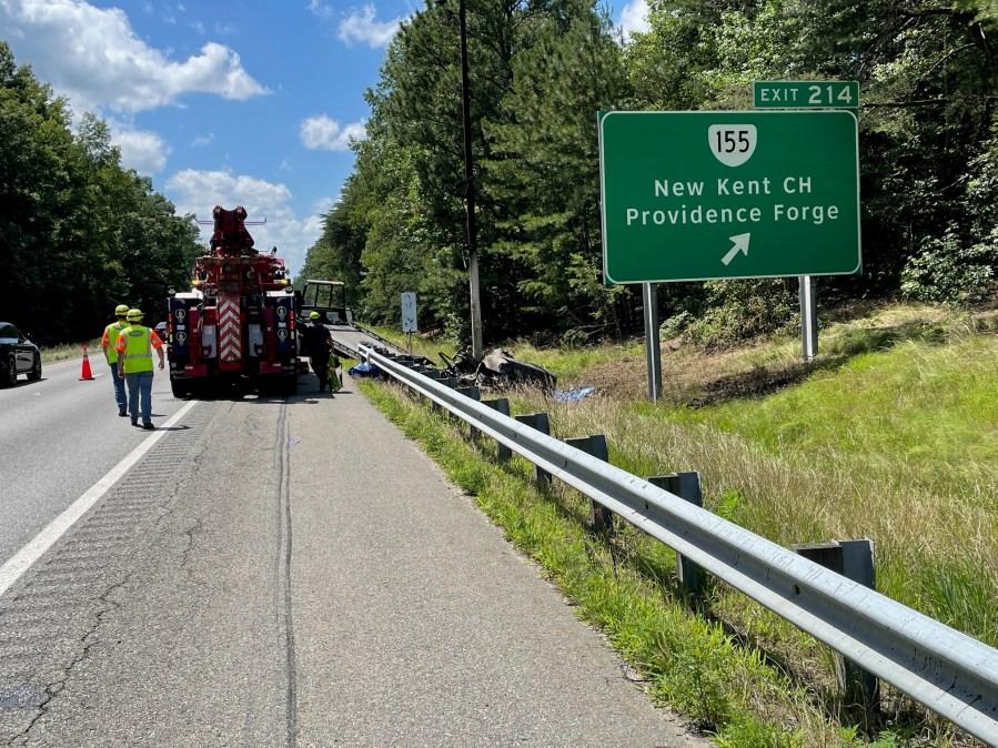 Accident on I-64