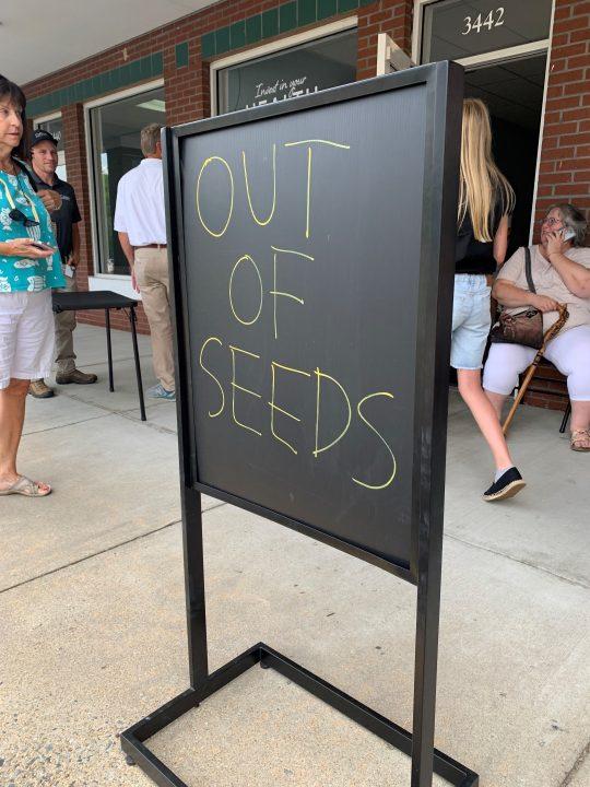 Marijuana seed share event in Henrico County