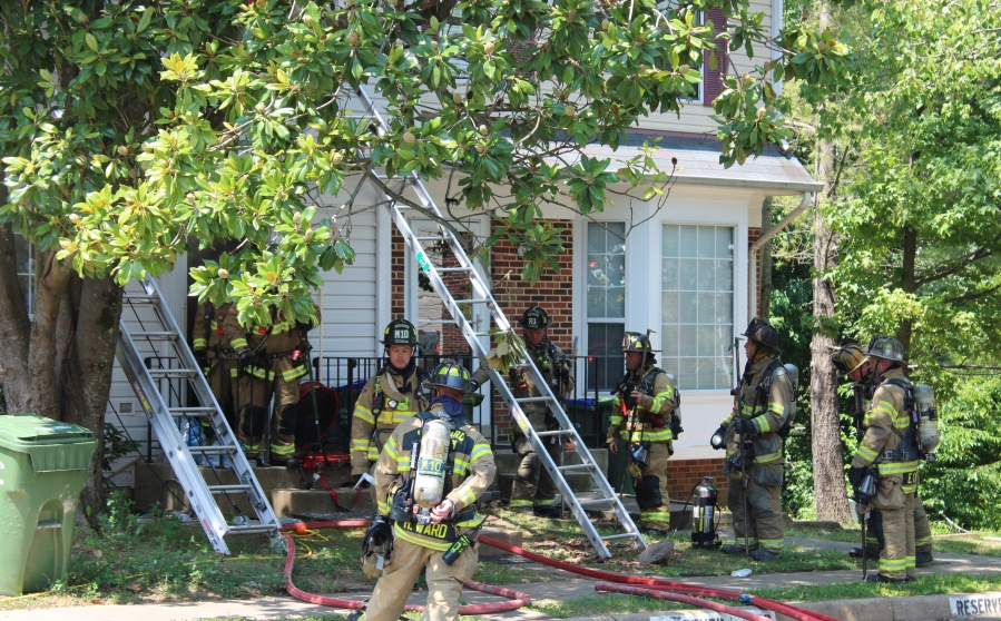 Stafford County townhouse fire