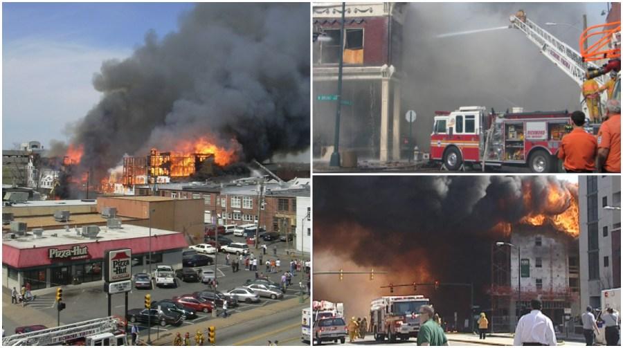 W. Broad Street fire in 2004